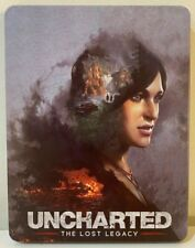 "Uncharted: The Lost Legacy ""Custome Print Steelbook Case"" PS4 (NO GAME DISK)"