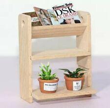 Doll House Accessories - 1 x Mini Wooden Shelf