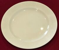 "Kate Spade New York #803715 Lenox Wickford 11 1/2"" White Rimmed Dinner Plate NWT"