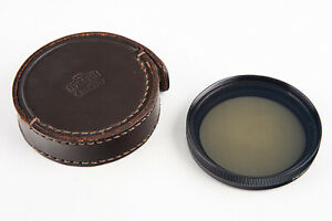 Nippon Kogaku Nikon 52mm Polar Polarizing PL Polarizer Filter in Case V11