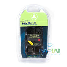 JL AUDIO XMD-MCB-30 WATERPROOF IGNITION PROTECTED MARINE CIRCUIT BREAKER 30 AMP