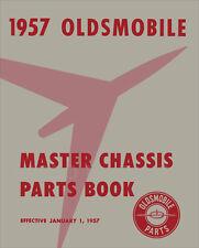 Oldsmobile Mechanical Parts Book 1957 1956 1955 1954 1953 1952 1951 1950 Olds