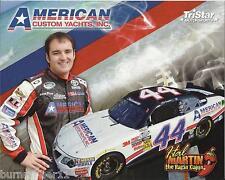 "2012 HAL MARTIN ""AMERICAN CUSTOM YACHTS"" #44 NASCAR NATIONWIDE POSTCARD"