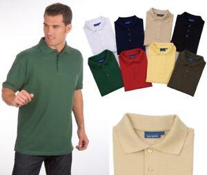 Kurzarm Pique Poloshirt Qualityshirts Gr. S - 8XL auch in Übergrößen