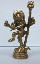 SHIVA tanzend Figur Asiatika Bronze SHIVA  dancing mit Dreizack
