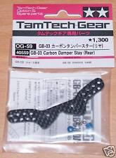 Tamiya 40559 gb-03 Carbono Amortiguador estancia (trasero) (gb03) (tamtech-gear Genios) Nip