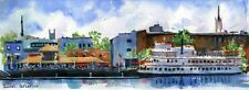 GICLEE 12x36  Wilmington NC Landscape Henrietta of Painting Large Big Huge Art
