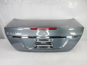 ☑️ 03-09 Mercedes W211 E350 Complete Rear Trunk Lid Deck Shell Assembly GRAY OEM