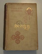 LHASA AND ITS MYSTERIES Record of the Expedition of 1903-04 Tibet Dalai Lama