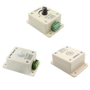 PIR/Manual/Touch Dimmer Switch Controller Motion Sensor for LED Strip Light Lamp