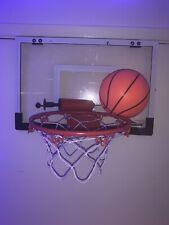 In/Outdoor Mini Basketball Hoop System w/Ball Home Wall Door Basketball Net Goal