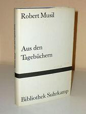 Robert Musil: Aus den Tagebüchern