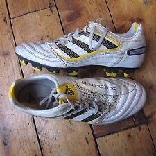 Adidas Predator Absolado FG Football Boots White Yellow G02605 Vintage 2009 UK 7