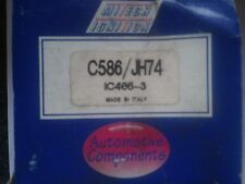 "C586 Mitech ""New"" Distributor Cap With Aluminum Contacts"