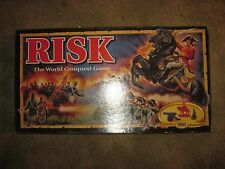 1993 Parker Bros. Risk World Conquest Board Game, Complete, 360 miniatures