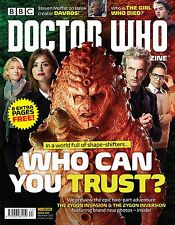 DOCTOR WHO Magazine #492 - December 2015 - NEW