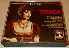PUCCINI-TOSCA-2xCD 1989-PRETRE-MARIA CALLAS/CARLO BERGONZI/TITO GOBBI-RARE