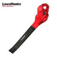 LawnMaster 8 Amp 2-Speed 160 MPH & 180 CFM Electric Leaf Blower Leaf Vacuum