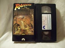 Raiders of the Lost Ark (Vhs, 1981) Indiana Jones Harrison Ford Lucasfilm