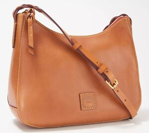 Dooney & Bourke Florentine Leather Tracy Crossbody - Natural