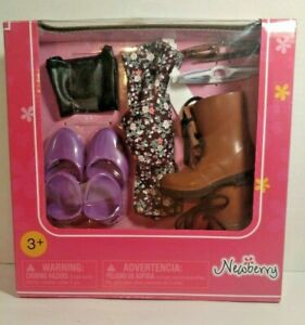 Newberry Doll American Girl Accessories Boots Shoes Sunglasses Bow