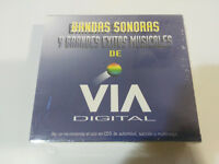 BANDAS SONORAS Y GRANDES EXITOS MUSICALES DE VIA DIGITAL - 3 X CD NEW NUEVO