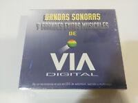 BANDAS SONORAS Y GRANDES EXITOS MUSICALES DE VIA DIGITAL - 3 X CD NEW NUEVO