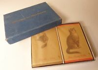 Chesapeake and Ohio Railway Cat Playing Cards ca. 1930s Sealed in Glassine Paper