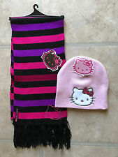 Hello Kitty Scarf and winter Hat set, soft and warm! - NEW with TAGS