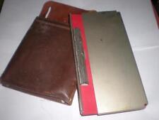 RARE 1970'S VINTAGE COCA COLA COKE SALESMAN ROUTE TICKET CASE & LEATHER HOLDER