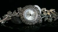 Turkish Handmade Jewelry Watch Sterling Silver 925 Bracelet