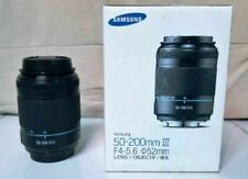 *NEAR NEW* SAMSUNG NX 1:4-5.6 50-200mm ED OIS III BLACK i-Function Lens + Box!