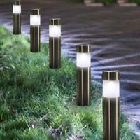 LED Solar Light Garden Lawn Path Light Ground Plug Light Driveway Lighting Syste