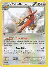 Pokemon Steam Siege Talonflame 96/114  Rare Card