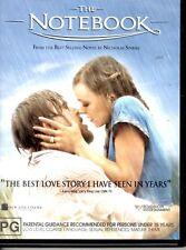 THE NOTEBOOK LIKE NEW 2005 DVD* RYAN GOSLING RACHEL MC ADAMS JAMES GARNER 118m*