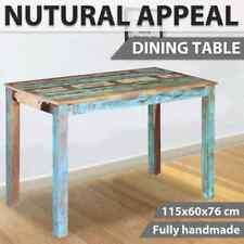 vidaXL Solid Reclaimed Wood Dining Table Indoor Kitchen Living Room Furniture