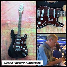 GFA The Descendents Band * MILO AUKERMAN * Signed Electric Guitar PROOF COA