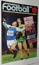 FRANCE FOOTBALL 1706 19/12 1978 SANTINI ASSE VERTS P. REDON STRASBOURG EUROPE