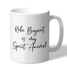 MugBros Kobe Bryant is my Spirit Animal 11 Ounce Coffee Mug