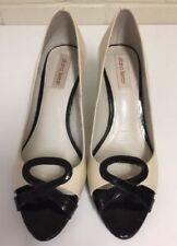 Diana Ferrari Leather Medium Width (B, M) Solid Heels for Women