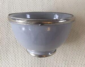 OKA Decorative Bowl - Light Grey and Silver