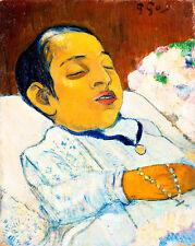 Atiti by Paul Gauguin 60cm x 47.8cm High Quality Art Print