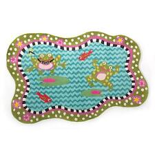 Mackenzie-Childs Frog Pond Rug **NEW**