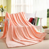 super soft summer blanket coral fleece air conditioning blanket sheet quilt thin