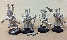 Warhammer 40K Dark Eldar Incubi 40,000 miniatures role playing GW 1992 metal lot