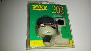 Vintage Zebco 202 1989 Brunswick casting reel made in USA (FACTORY SEALED)