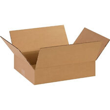 25 14x12x3 Cardboard Shipping Boxes Cartons Packing Moving Mailing Storage Box