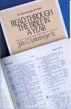 Read Through the Bible in a Year: In Chronological Order