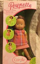 New Corolle Poupette Lulu My first baby doll NEW 2003 France auburn red hair