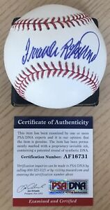 FRANK ROBINSON LICENSED PSA/DNA AUTHENTICATED SIGNED NEW MAJOR LEAGUE BASEBALL